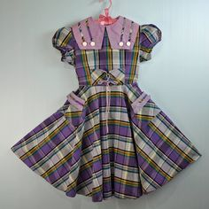 1950's - 1960's little girl's school dress.