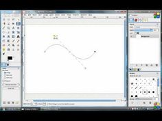 Learning Paths Tool in Gimp part 1 - YouTube