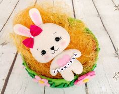Easter gifts for boys easter bunny personalized gift rabbit lover easter gifts for girls bunny toy felt rabbit easter personalized birthday gift easter basket girl easter decorations baptism gift girl negle Gallery