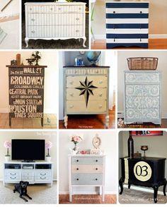 6 Faboulous Dresser Makeover Ideas - http://www.amazinginteriordesign.com/6-faboulous-dresser-makeover-ideas/