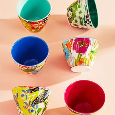 Our floral picnic bowls are ripe for the picking.