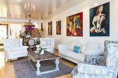 eclectic modern malibu dream home    Contemporary interior design…