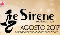 Le Sirene | Sea Beach Sun AGOSTO 2017 http://affariok.blogspot.it/
