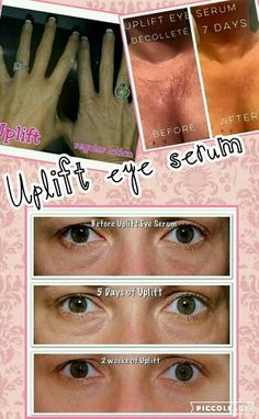Uplift eye serum is the best!  Www.youniqueproducts.com/lillianconner
