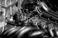High Performance Engine Royalty Free Stock Photo