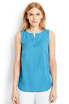 Women's Sleeveless Tencel Top