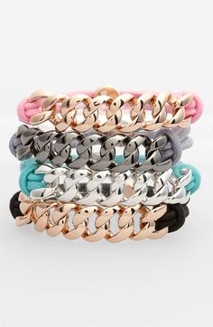 MARC BY MARC JACOBS 'Turnlock' Cord Bracelet available at #Nordstrom