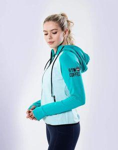 Women's Two Tone Green Hoodie designed in Ireland! Irish Design, Athleisure Outfits, Adidas Jacket, Shop Now, Rain Jacket, Windbreaker, Gym, Hoodies, Ireland