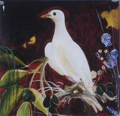 Brett Whiteley - Digital print, Title: The White Dove in Avoca Auction Australian Painting, Australian Birds, Australian Artists, Bird Artwork, Sculpture Painting, White Doves, Figurative Art, Digital Prints, Fine Art