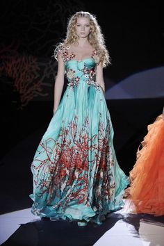 Zuhair Murad s/s couture 2009 - mermaid inspired collection