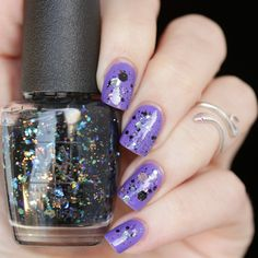 OPI - Comet in the sky Nails, glitter, purple