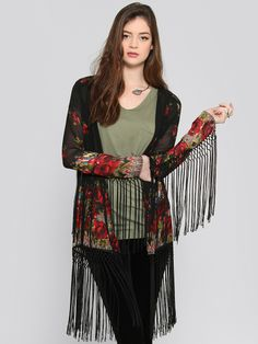 Roses Gypsy Jacket - What's New | GYPSY WARRIOR