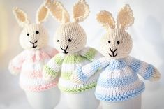 Easter Egg Cozies.  So cute!