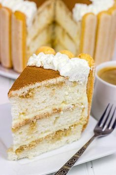 Tiramisu Cake   Turn this classic dessert into a cake!