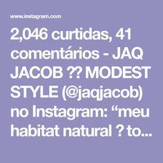 """2,046 curtidas, 41 comentários - JAQ JACOB ⚡️ MODEST STYLE (@jaqjacob) no Instagram: """"meu habitat natural 🌱 to amando tanto minha sala nova! Não posso deixar de falar dessa parede…"""""""