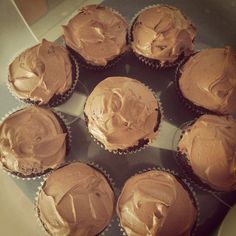 Chocolate cupcakes, easy recipe from martha steward website