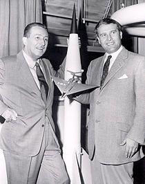Walt Disney meets Werner van Braun.