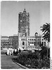 1953 Wiederaufbau Rotes Rathaus