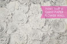 How I Built a Giant Flower Wall (as cheaply as possible) » Posh Tart Parties