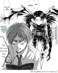 Shingeki No Kyojin (Death Note Version)