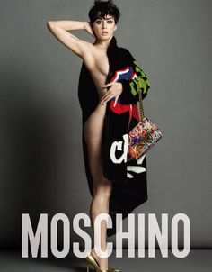6ac73ef73929 New York Style! Katy Perry in der Moschino Herbst-Winter Kampagne 2015
