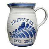 Salt glaze pottery- Cape House Hallmark-Orleans, Cape Cod.