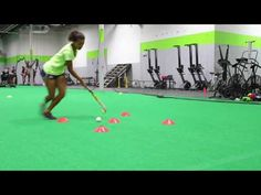 Field Hockey Footwork & Stickwork drills - YouTube