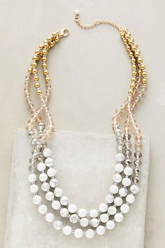 Anthropologie Venice Layer Necklace