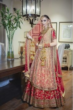 Call/Whatsapp: 7802885280 Kinas Designer present this fully custom made in We are offering fully Hand Made, Zardosi Work bridal collection at the best price. Buy this latest Bridal Lehenga Choli collection at Sabyasachi Wedding Lehenga, Red Wedding Lehenga, Raw Silk Lehenga, Lehenga Style, Red Lehenga, Indian Bridal Lehenga, Lehenga Choli, Sarees, Mirror Work Lehenga