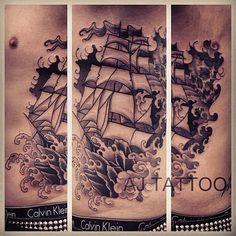 #tattoo by Aaron Ashworth @aj_tattoo  (at WA Ink Tattoo)