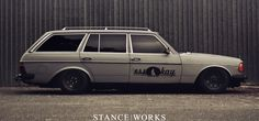 1980年式 S123型 メルセデス ベンツ 280TE / Mercedes-Benz 280TE   Lowered, Stance
