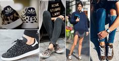 If you're after a fun alternative to the seasons-old white sneaker, check out this latest trend from both the high street and high-end designers. Leopard-print trainers are quickly becoming a wardrobe essential – teamed with a host of different looks, this is the easiest way to elevate your casual edit.