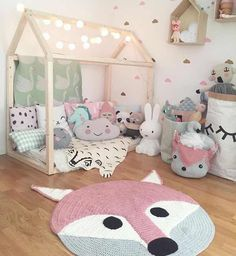 Wow what a gorgeous little girls bedroom! Elin Andersson - Home Decor Max