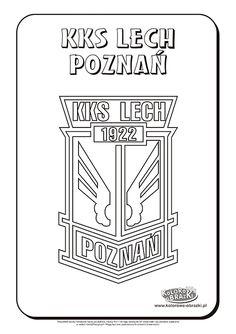 Lech Poznań logo kolorowanka | Kolorowanki dla dzieci