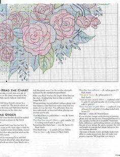 MÁS PUNTO DE CRUZ: rosas