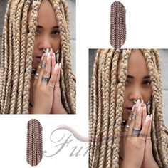 Aliexpress.com : Buy Crochet Box Braids Curly Synthetic Braiding Hair High Quality Popular Styles Box Crochet Braids Cheap 24inch Braid Crochet from Reliable box knife suppliers on crochet braiding hair extension Store