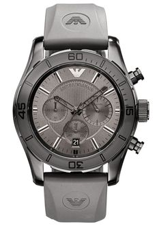 Complete your look with this handsome men's chronograph sport watch!