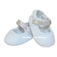 bling baby shoes Klf: could revamp store boughts into blinged version... Yessss
