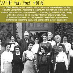 Harvard Computers - WTF fun fact