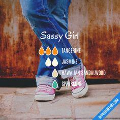 Sassy Girl - Essential Oil Diffuser Blend