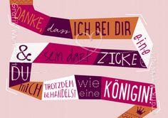 Danke - Postkarten - Grafik Werkstatt Bielefeld