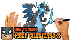 how to draw zekrom and reshiram step by step