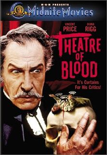 Theatre of Blood A Shakespearean actor takes poetic revenge on the critics who denied him recognition. With Vincent Price, Diana Rigg, Ian Hendry. My all time favorite Vincent Price film. Best Horror Movies, Classic Horror Movies, Cult Movies, Scary Movies, Awesome Movies, Greatest Movies, Classic Films, Horror Icons, Horror Movie Posters