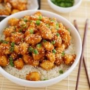 Crispy Baked Honey Garlic Chicken