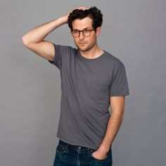 I just checked out the men's luxury tees at Everlane. $15