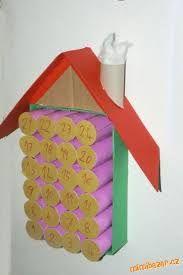 Výsledek obrázku pro vánoční výrobky z ruliček od toaletního papíru Advent Calendar, Holiday Decor, Home Decor, Decoration Home, Room Decor, Interior Design, Home Interiors, Interior Decorating