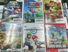 Good trade of some #Wii staples. #mario