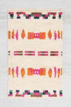 Would be cute in the guest bedroom Bohem The Stella Shag Rug - Urban Outfitters