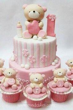1st Birthday Cake Ideas for Girls (45 Photos) | More Cake IdeasMore Cake Ideas by tamra