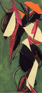 """""""Jungle Green"""" by Lee Krasner Joan Mitchell, Jackson Pollock, Abstract Expressionism, Abstract Art, Lee Krasner, Brooklyn Museum Of Art, Summer Painting, Collage, A Level Art"""
